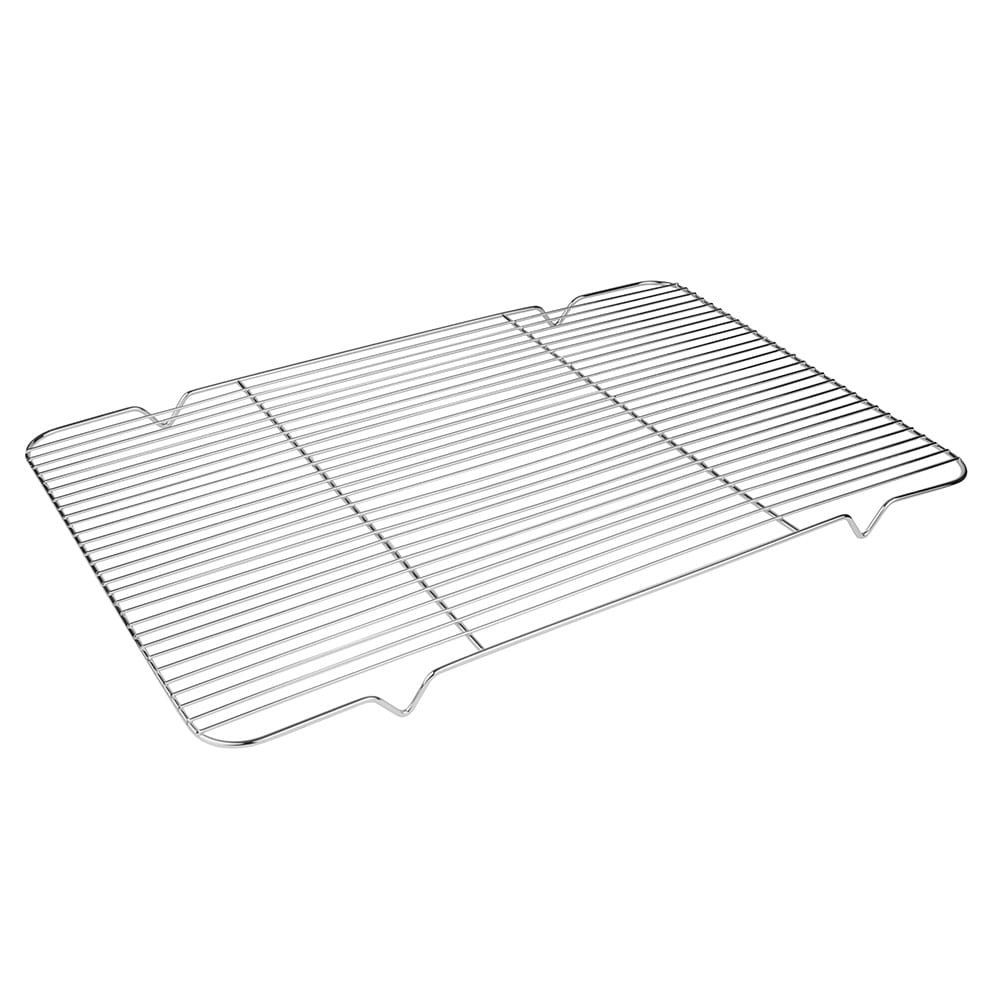 "Update IG-1624 Icing Grate - 16 1/8x24 3/4"" Chrome Plated"