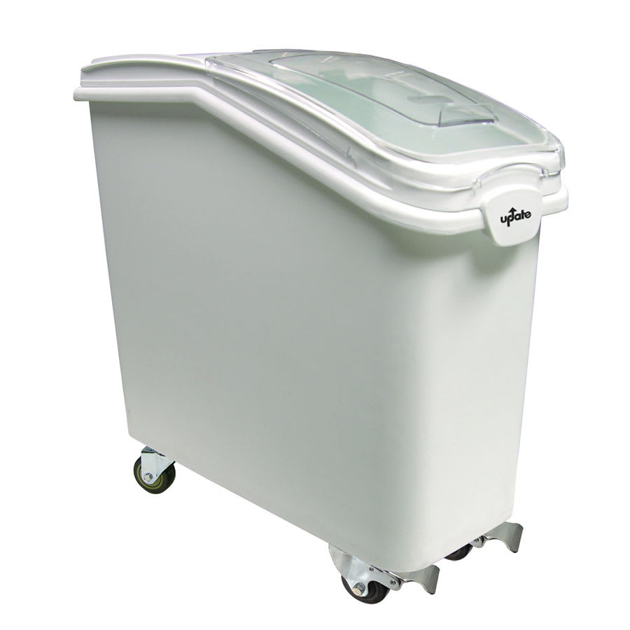 Update IGBN-21 21 gal Ingredient Bin with Lid - White
