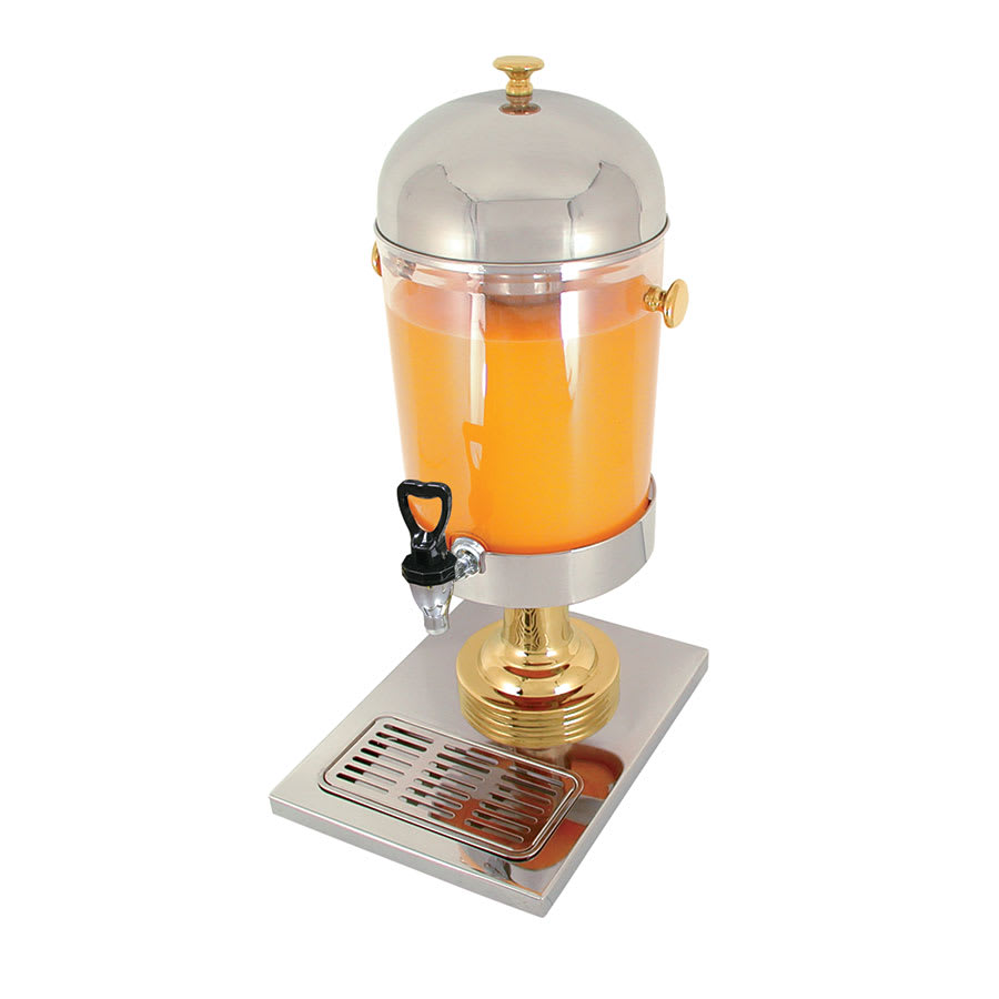 Update JD-22GD 2.2-gal Juice Dispenser - Gold-Plated Accent/Stainless