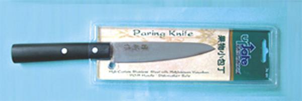 "Update JK-01 4-3/4"" Japanese Paring Knife - 2.0mm Carbon Stainless Steel"