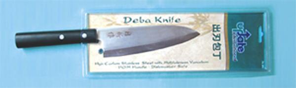 """Update JK-04 6-1/2"""" Deba Knife - 3.0mm Carbon Stainless Steel"""