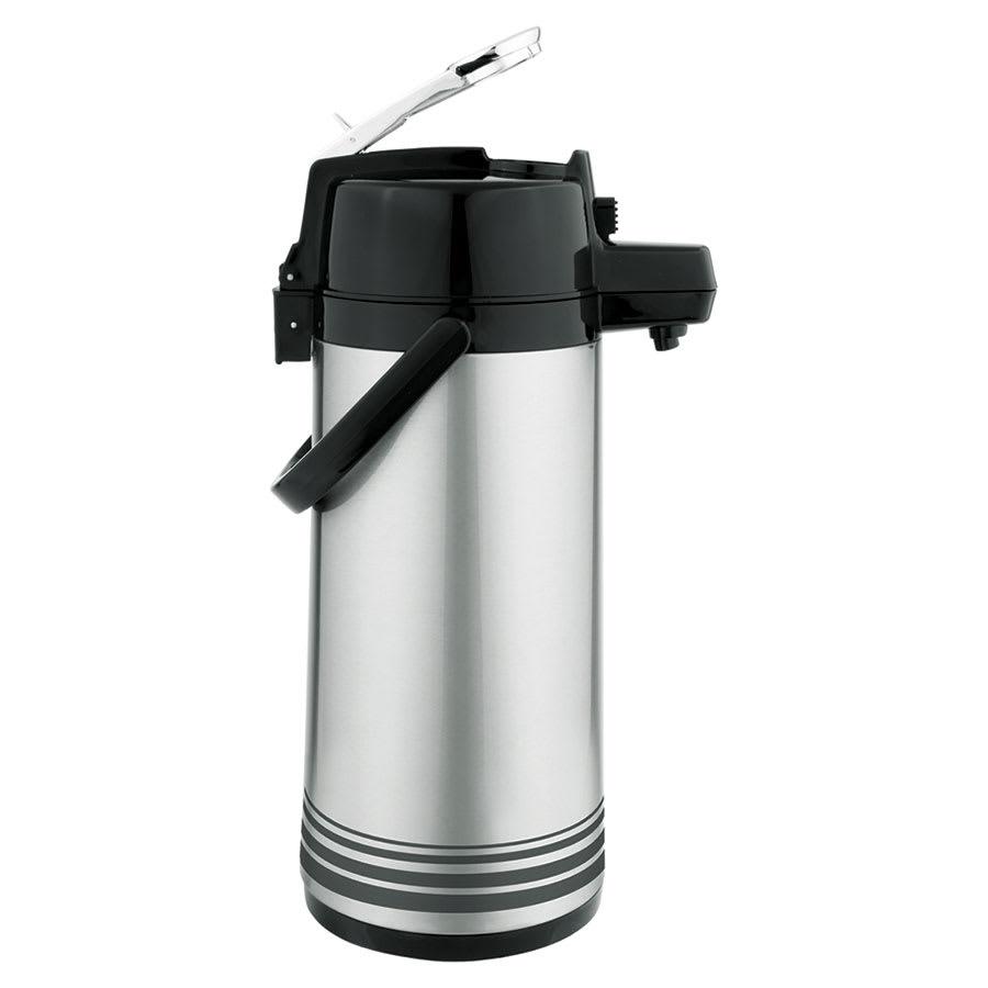 Update LSVL-30-BK/SF 3-liter Airpot - Stainless/Black