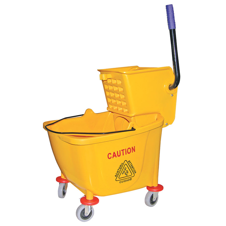 Update MBK-9 9-gal Mop Bucket with Wringer -  Yellow