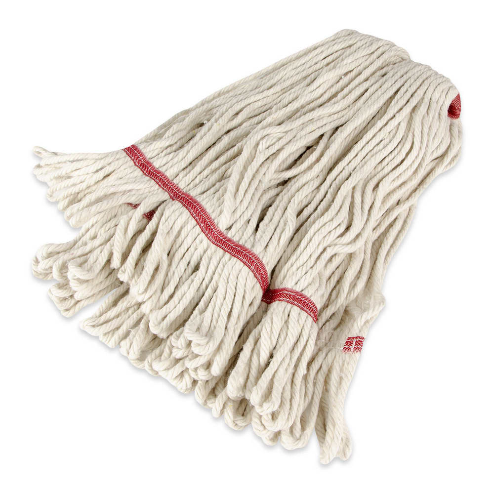 "Update MOP#24LE Loop-End Mop Head - 16x6"" Polyester/Cotton"