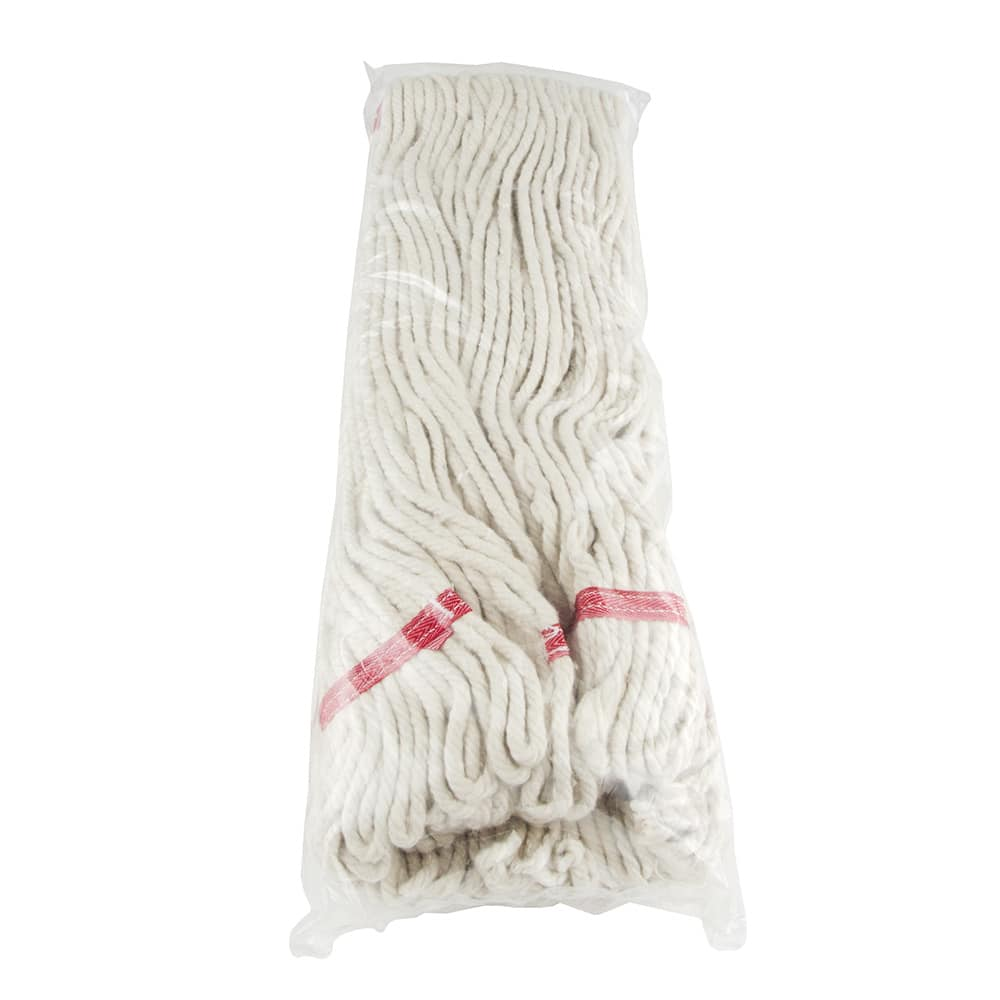 "Update MOP#32LE Loop-End Mop Head - 18-3/4x6-3/4"" Polyester/Cotton"