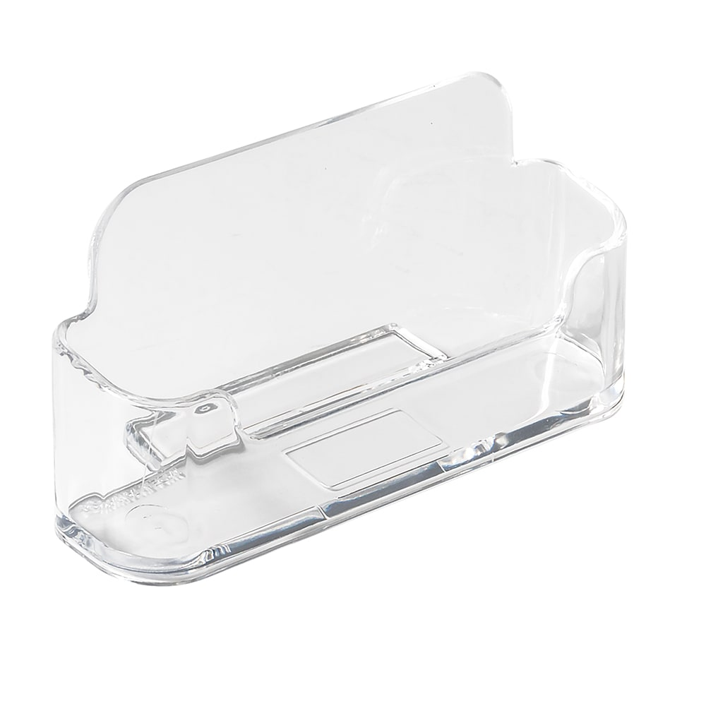 Update NCH-40 Name/Business Card Holder - Clear Acrylic