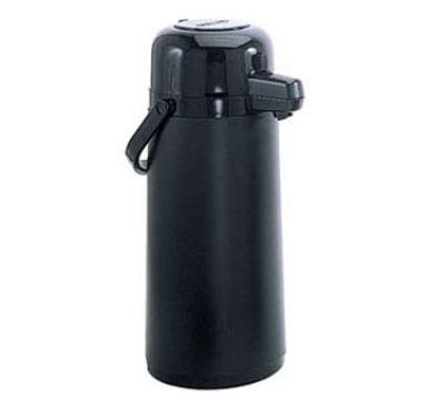 Update NPDB-22/BK/BT 2.2 Liter Glass Lined Airpot, Black Push Button Top