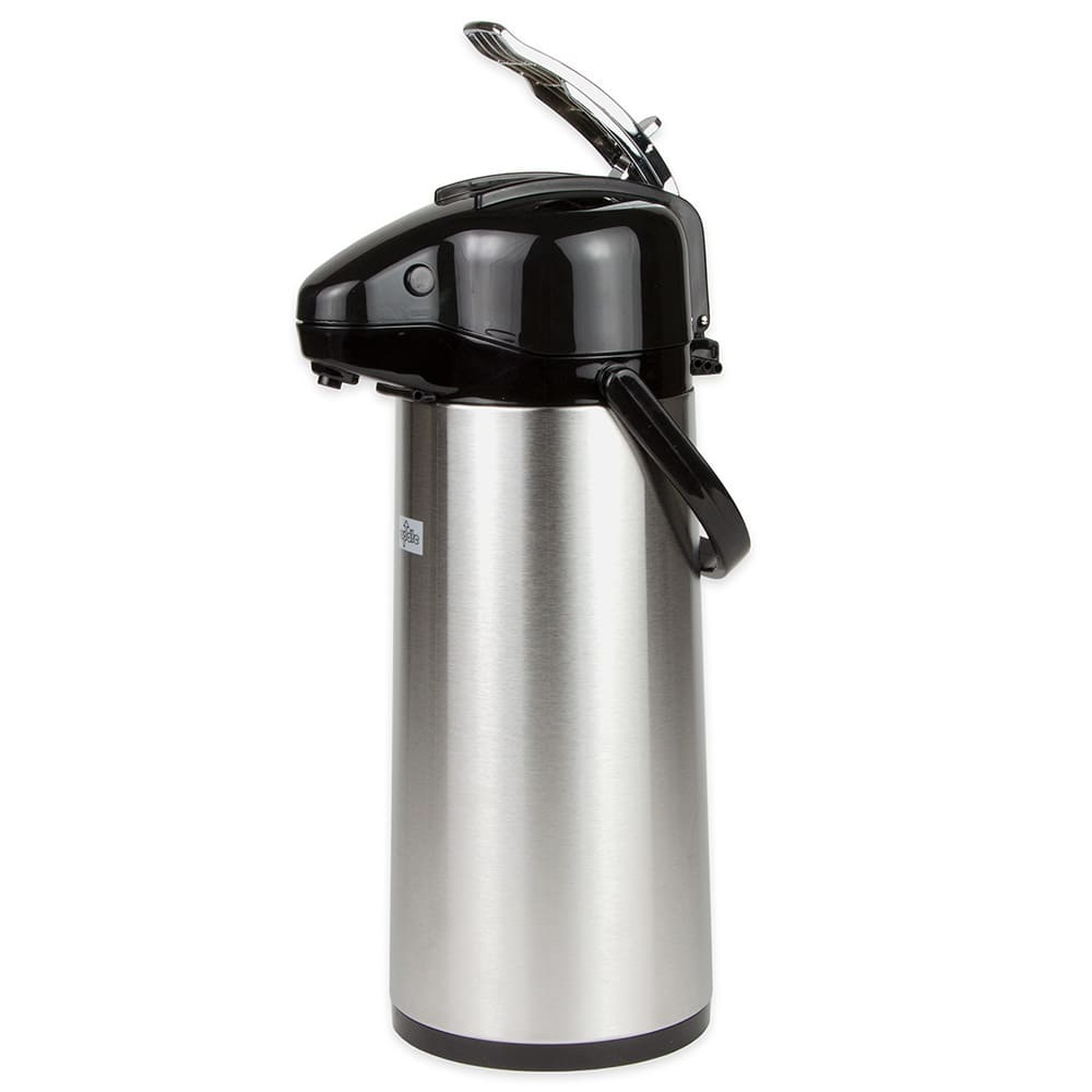 Update NVAL-22BK 2.2 liter Val-U-Air Airpot - Glass Liner, Black Top, Stainless
