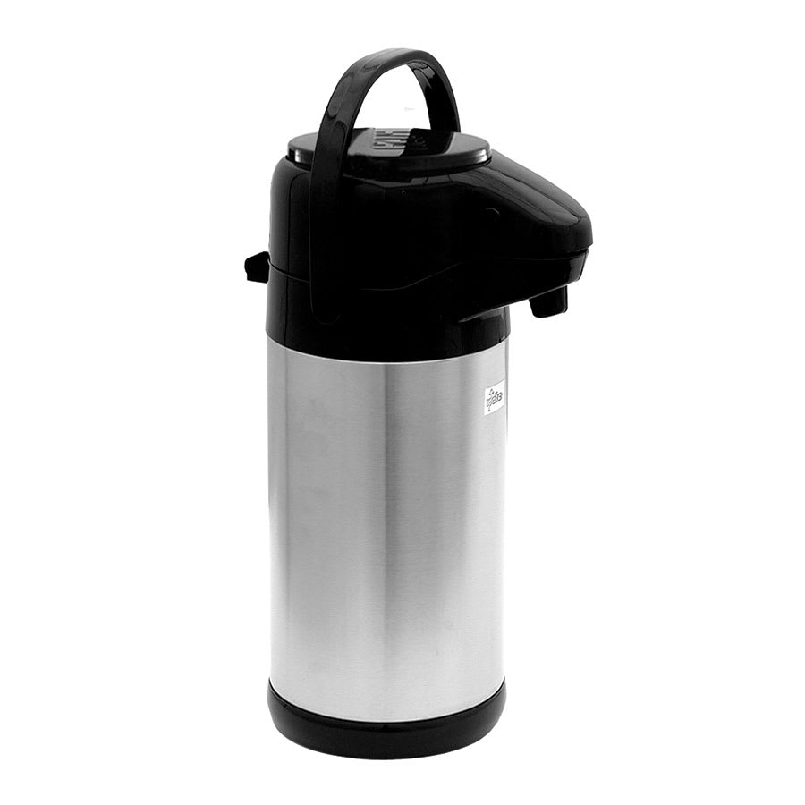 Update NVSP-25BK 2.5-liter Sup-R-Air Airpot - Stainless Liner, Black Push Top, Stainless