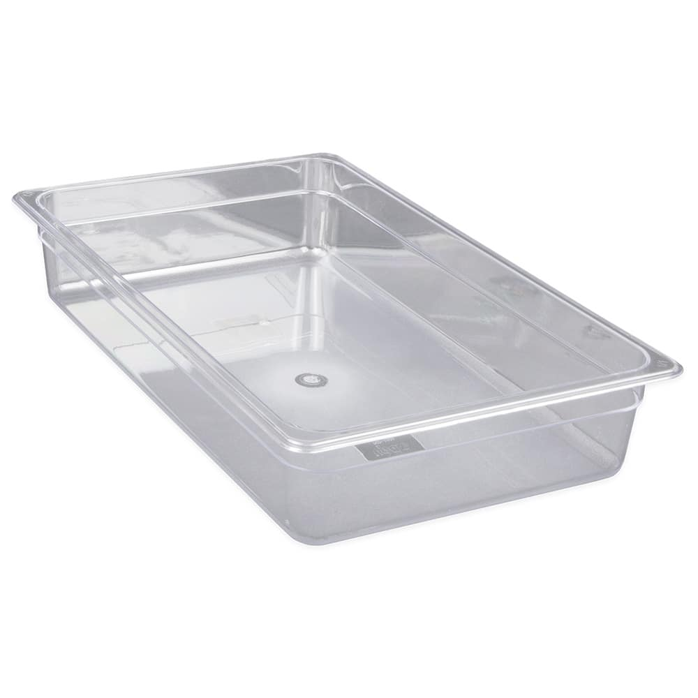 "Update PCP-1004 Full-Size Food Pan - 4"" D, Polycarbonate"
