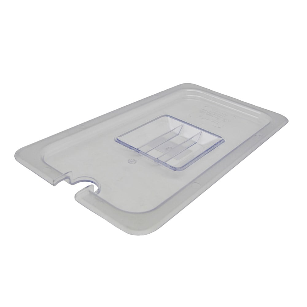 Update PCP-33CHC 1/3 Size Notched Food Pan Cover - Polycarbonate