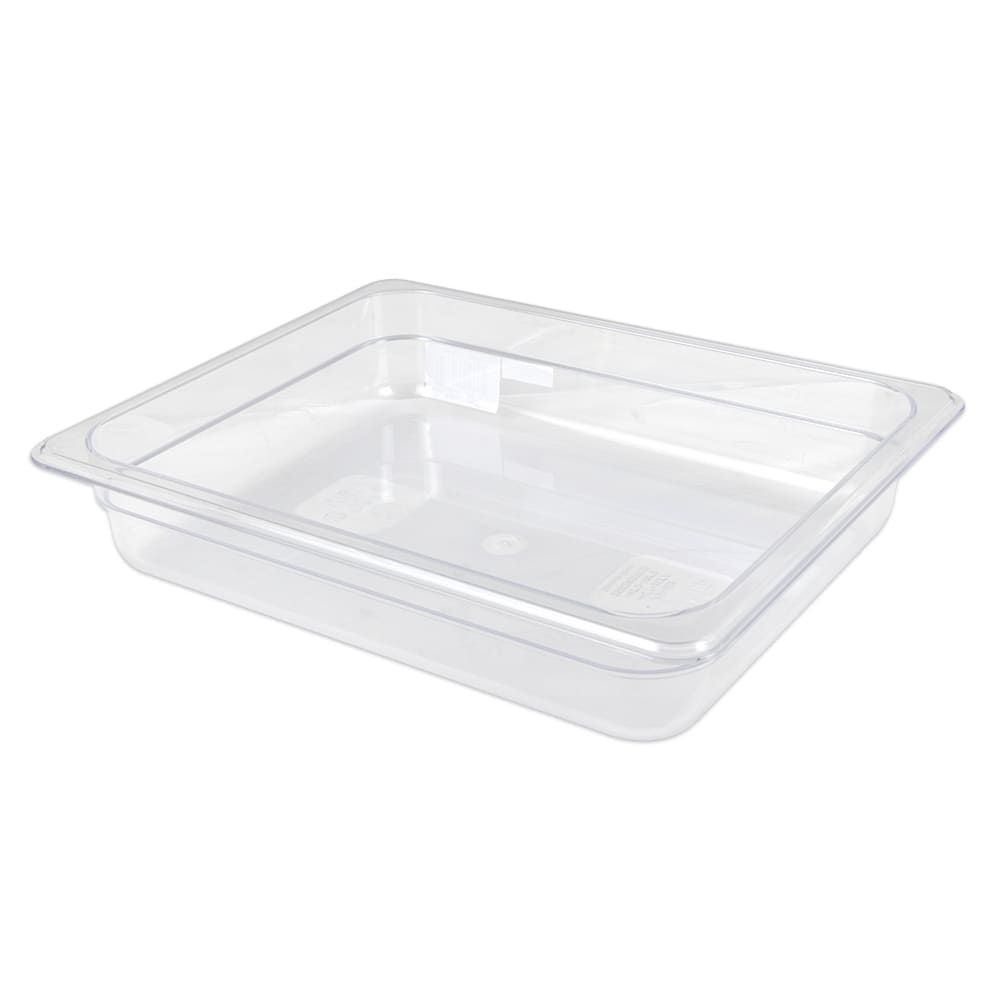 "Update PCP-502 1/2 Size Food Pan - 2 1/2"" D, Polycarbonate"