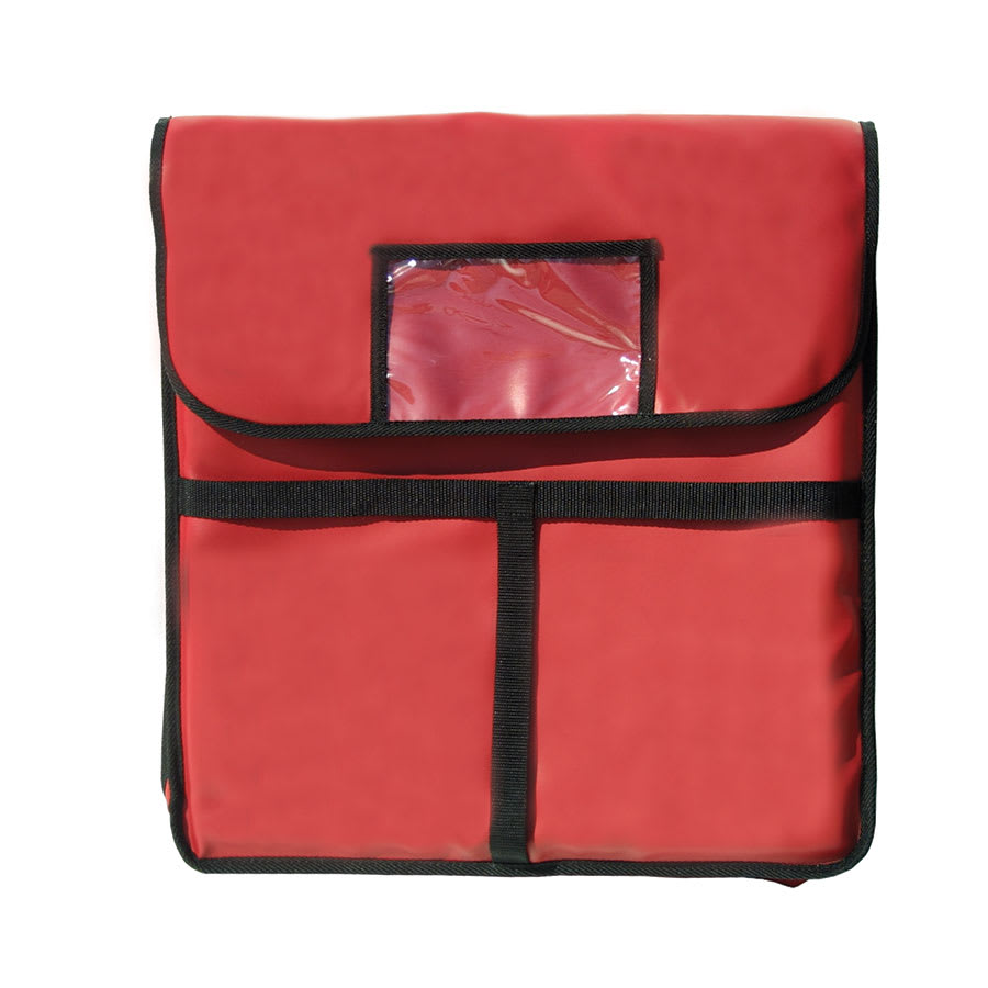 "Update PIB-20 Update International™ Pizza Delivery Bag - 20"" x 20"", Red"
