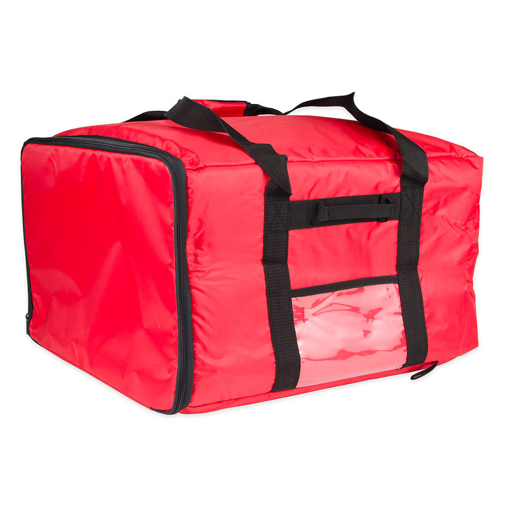"Update PIB-2013 Pizza Delivery Bag - 20"" x 20"" x 13""H, Red"