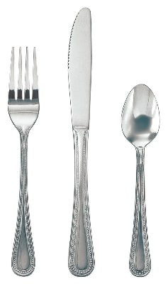 Update PL-87 Pearl Oyster Fork - 18/0-ga Stainless, Mirror-Polish