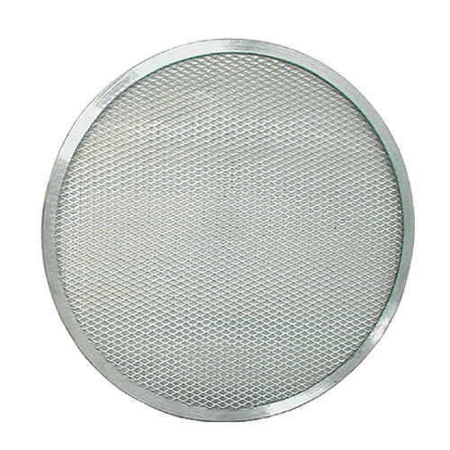 "Update PS-08 8"" Pizza Screen - Seamless Rim, Aluminum"