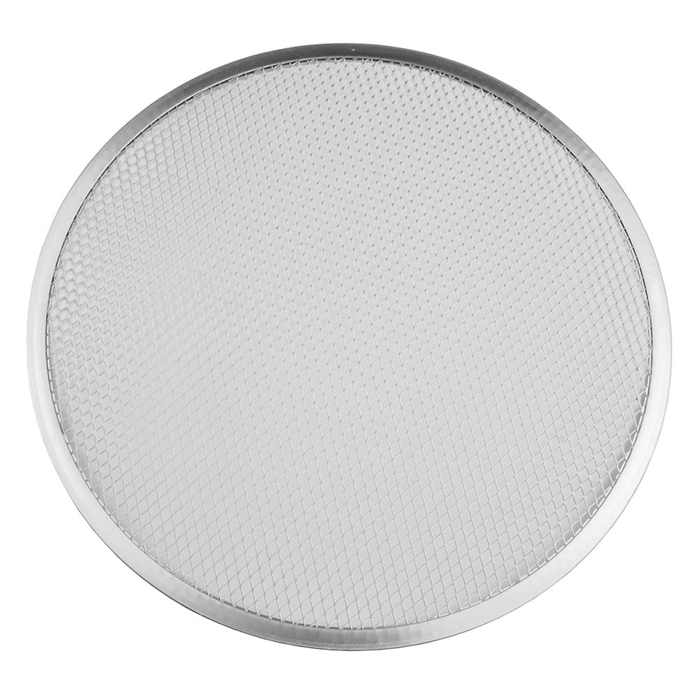"Update PS-15 15"" Pizza Screen - Seamless Rim, Aluminum"