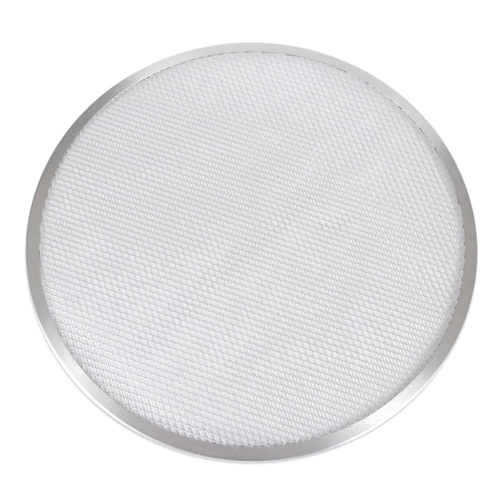 """Update PS-17 17"""" Pizza Screen - Seamless Rim, Aluminum"""