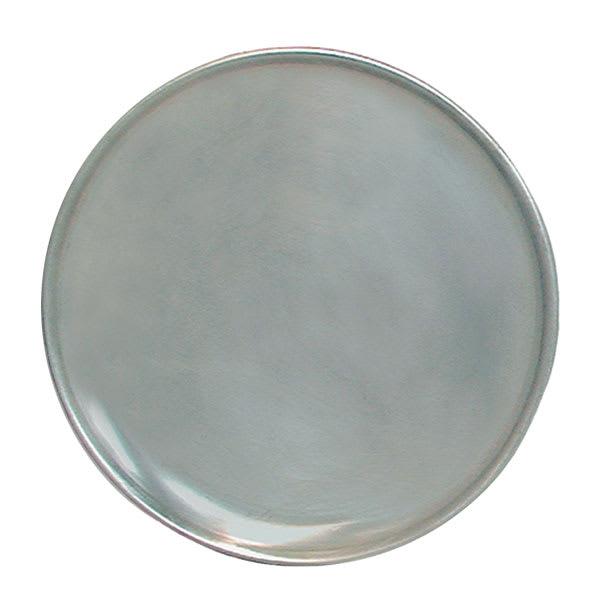 "Update PT-CS11 11"" Coupe Pizza Tray - Aluminum"