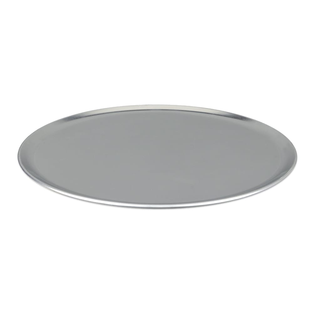 "Update PT-CS13 13"" Coupe Pizza Tray - Aluminum"