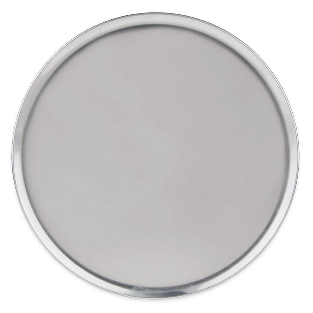 "Update PT-CS16 16"" Coupe Pizza Tray - Aluminum"