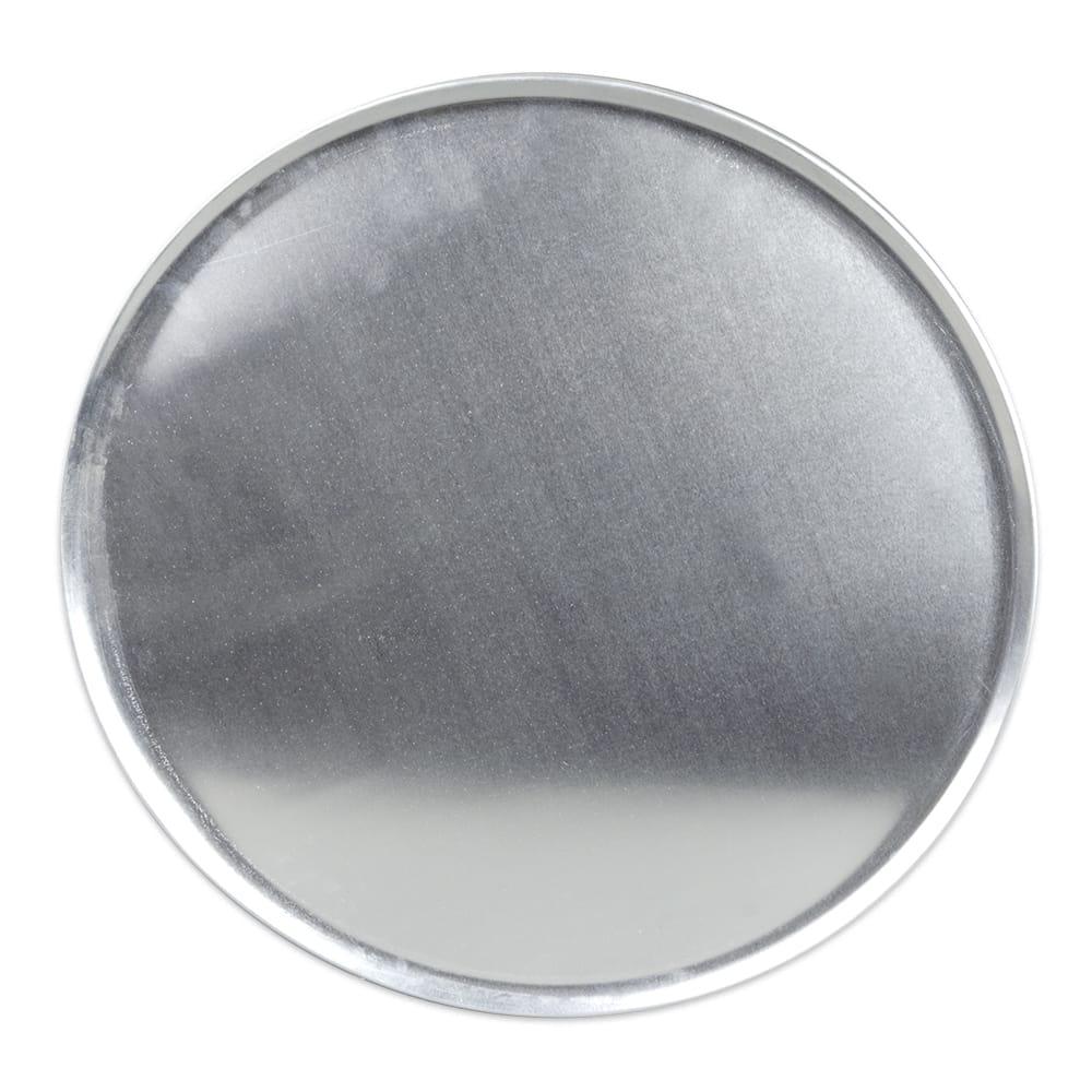 "Update PT-CS18 18"" Coupe Pizza Tray - Aluminum"