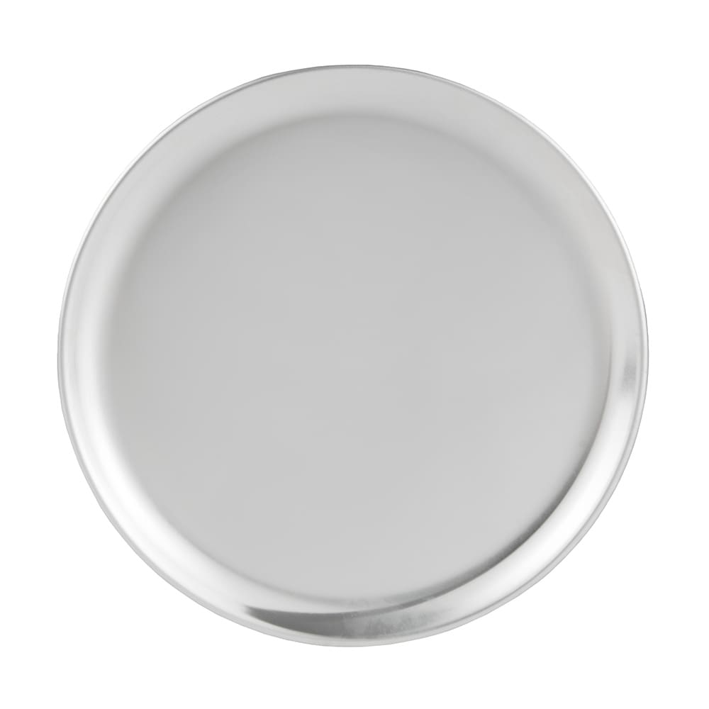 "Update PT-CS8 8"" Coupe Pizza Tray - Aluminum"