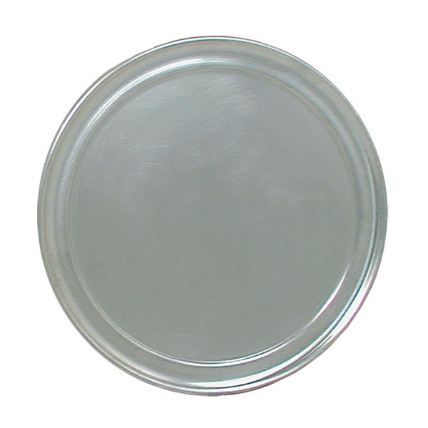 "Update PT-WR11 11"" Wide Rim Pizza Tray - Aluminum"