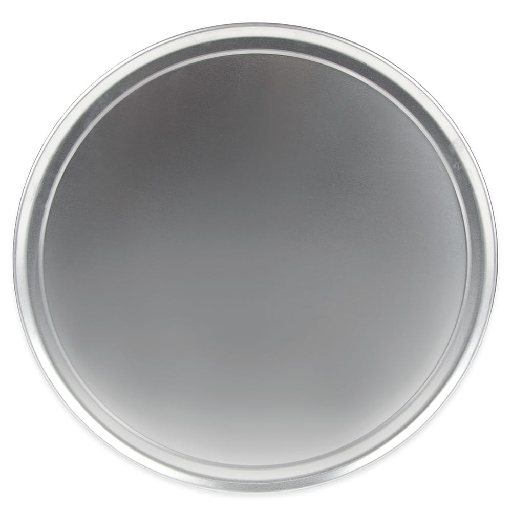 "Update PT-WR17 17"" Wide Rim Pizza Tray - Aluminum"