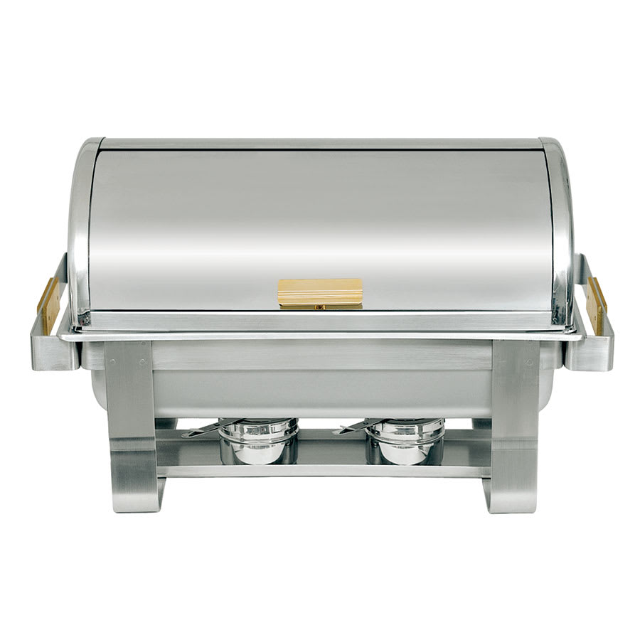 Update RTC-8 Full Size Chafer w/ Roll-top Lid & Chafing Fuel Heat