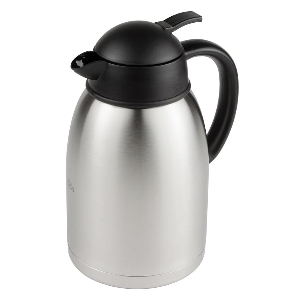 Update SA-19X 1.9 liter Sup-R-Serv Coffee Server - Push Button, Stainless
