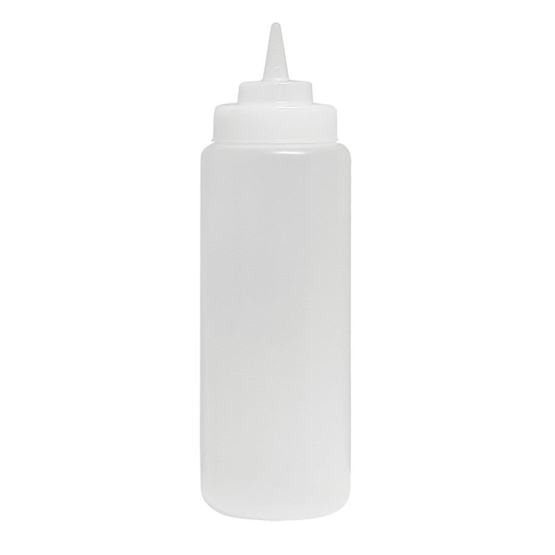 Update SBC-08 8-oz Squeeze Bottle - 6-Pack, Clear