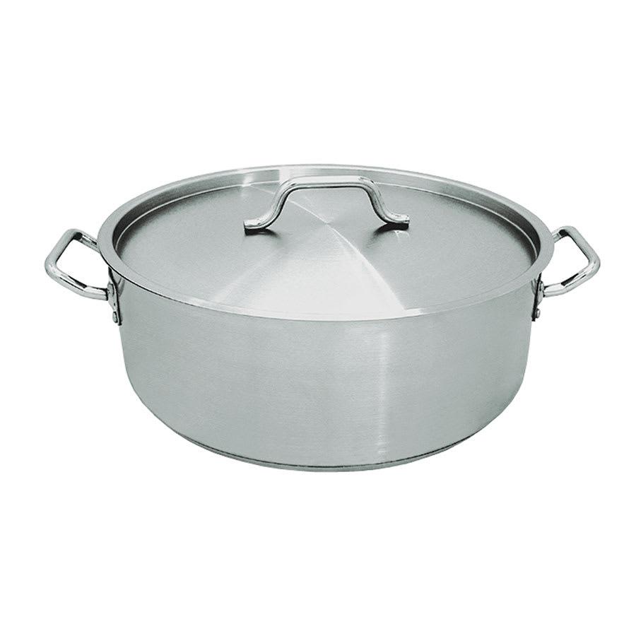 Update SBR-15 15 qt Stainless Steel Braising Pot