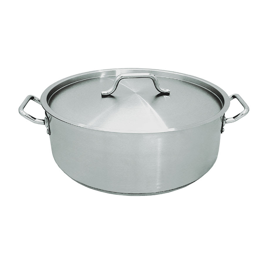 Update SBR-25 25 qt Stainless Steel Braising Pot