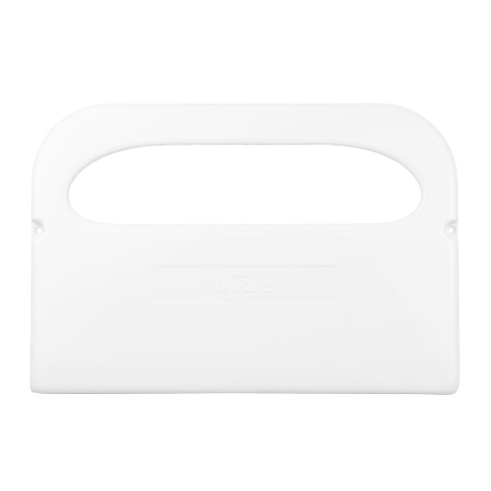 Update SCD-50WP Half-Fold Toilet Seat Cover Dispenser - White Plastic
