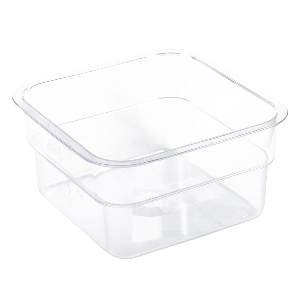Update SCQ-2PC 2 qt Square Storage Container - Polycarbonate