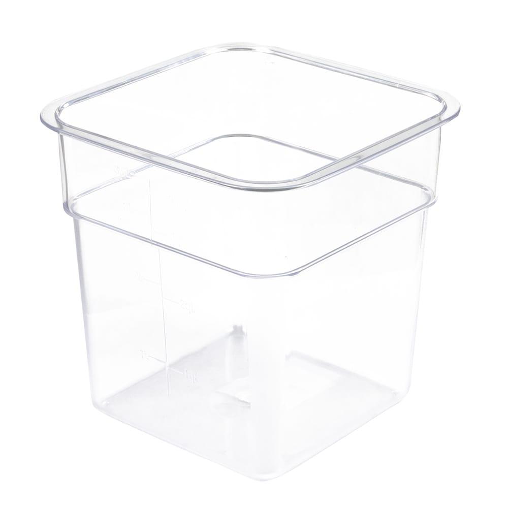 Update SCQ 4PC 4 qt Square Storage Container Polycarbonate