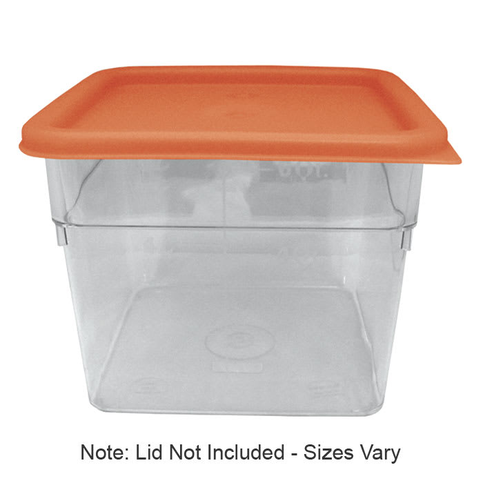 Update SCQ-8PC 8 qt Square Storage Container - Polycarbonate