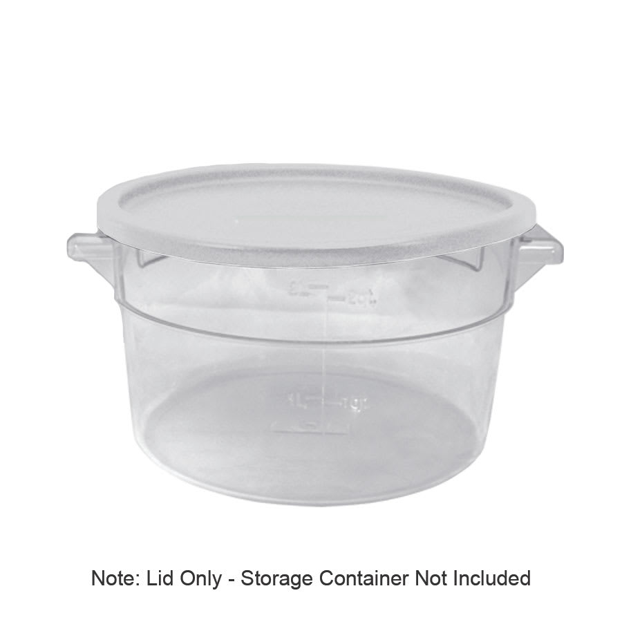 Update SCRL-SPE Cover, for 2 & 4-qt Round Storage Containers, White
