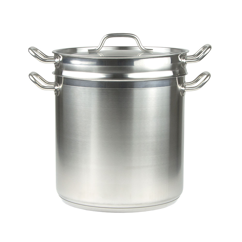 "Update SDB-20 12"" Stainless Steel Double Boiler w/ 20-qt Capacity"