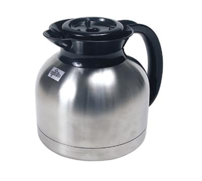 Update SE-19B&O 1.9-liter Coffee Server - Insulated, Stainless, Black/Orange Lid