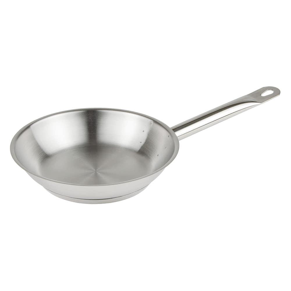 """Update SFP-08 8"""" Stainless Steel Frying Pan w/ Hollow Metal Handle"""