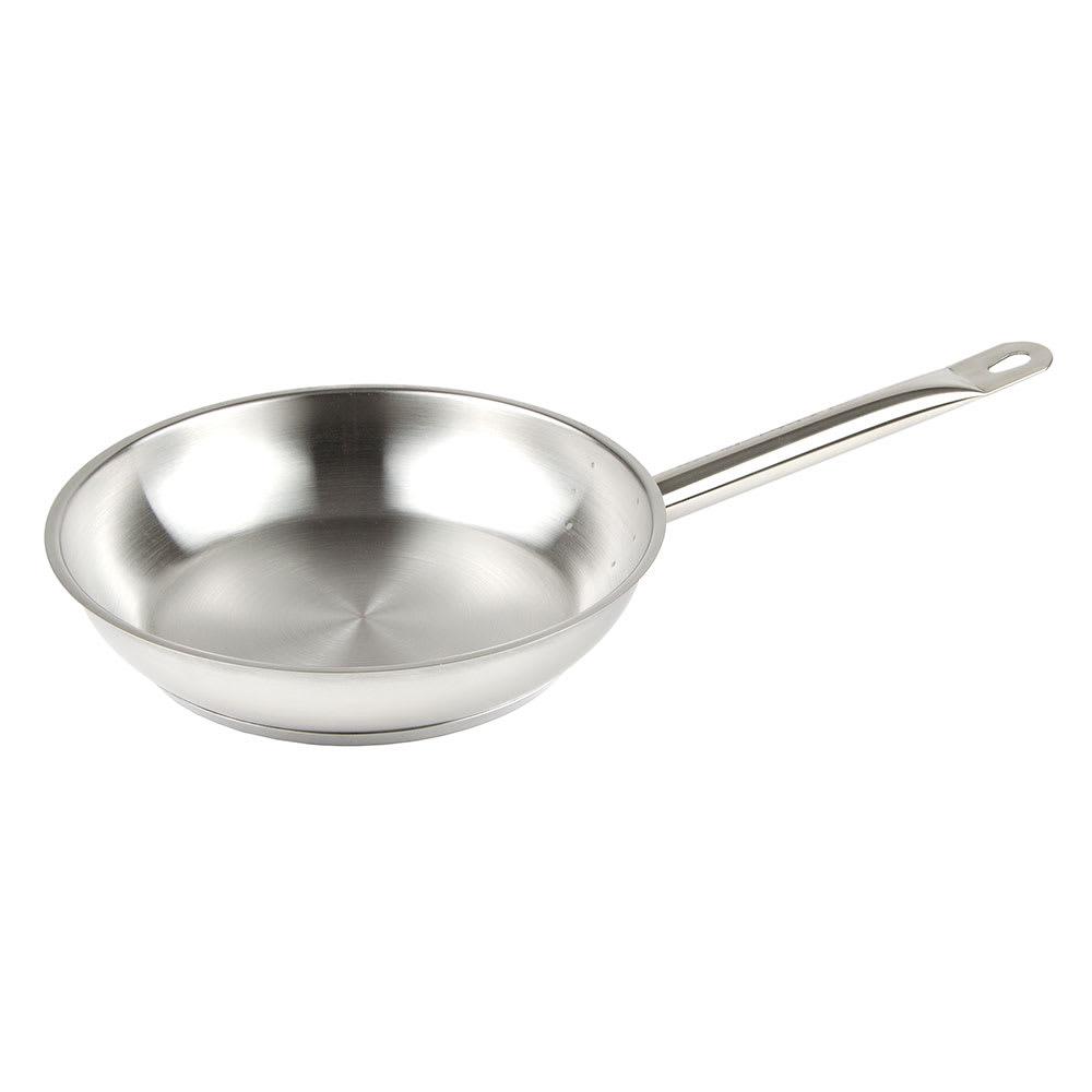 """Update SFP-09 9"""" Stainless Steel Frying Pan w/ Hollow Metal Handle"""