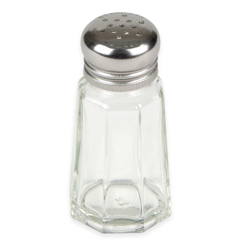 "Update SK-PM1 3"" Salt/Pepper Shaker w/ Metal Lid, Paneled"