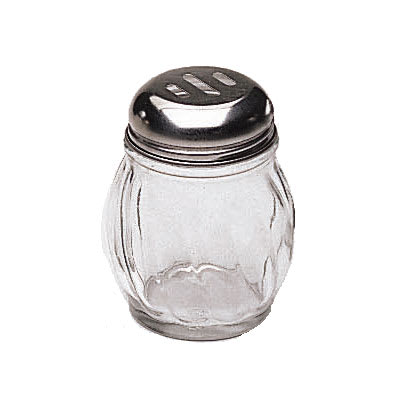 Update SK-ROT 6-oz Swirl Shaker - Slotted Top, Glass/Chrome