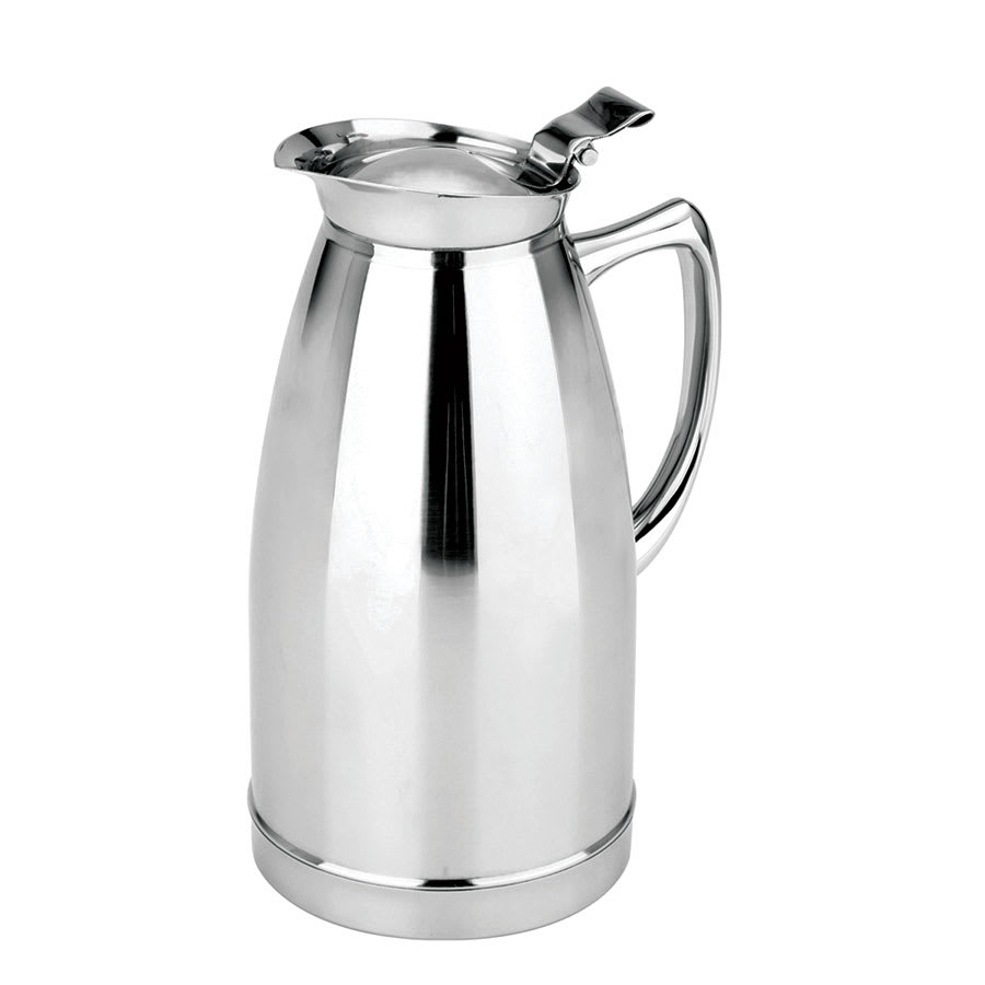 Update SM-50V 50-oz Insulated Beverage Server - Flip Lid, Stainless, Mirror-Finish