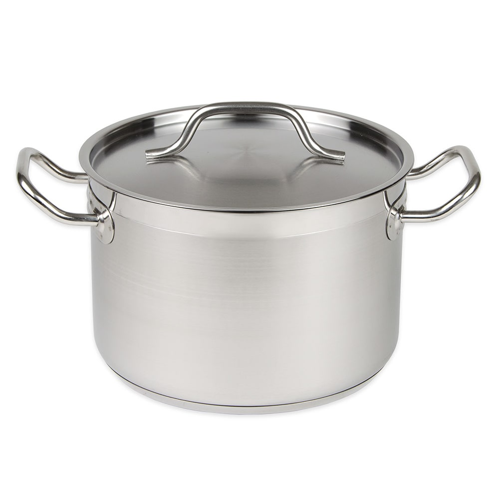 Update SPS-8 8-qt Stainless Steel Stock Pot - Induction Ready