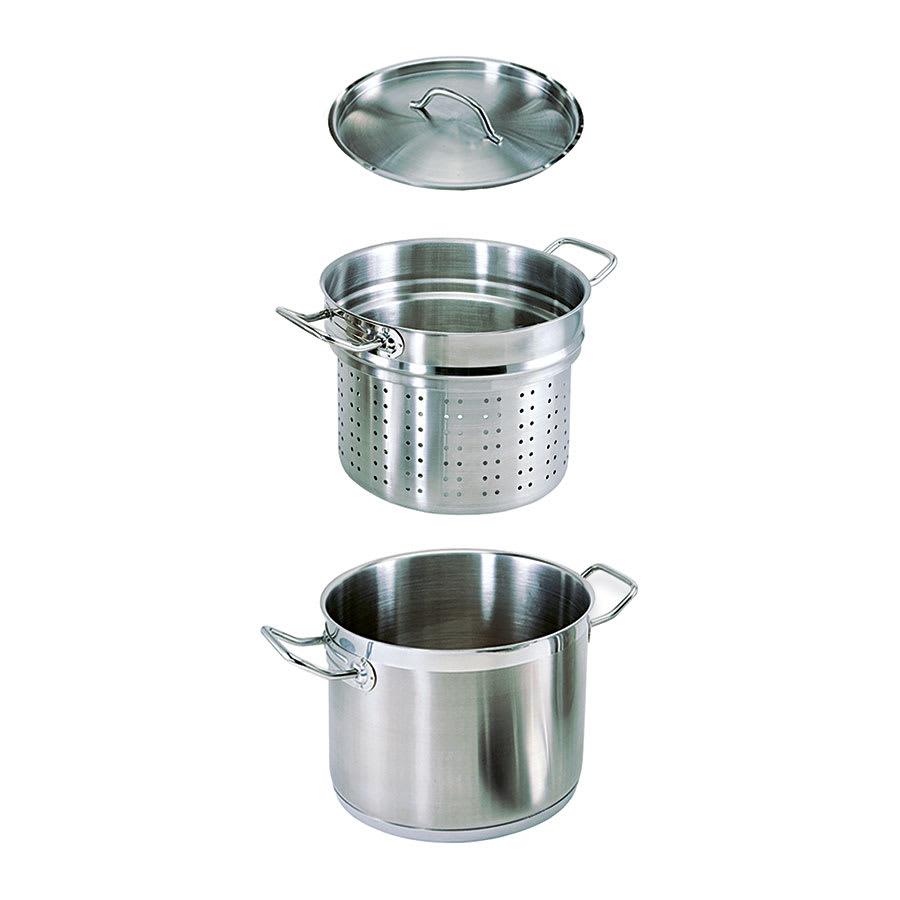 Update SPSA-20 20-qt SuperSteel Induction Pasta Cooker Set - Stainless