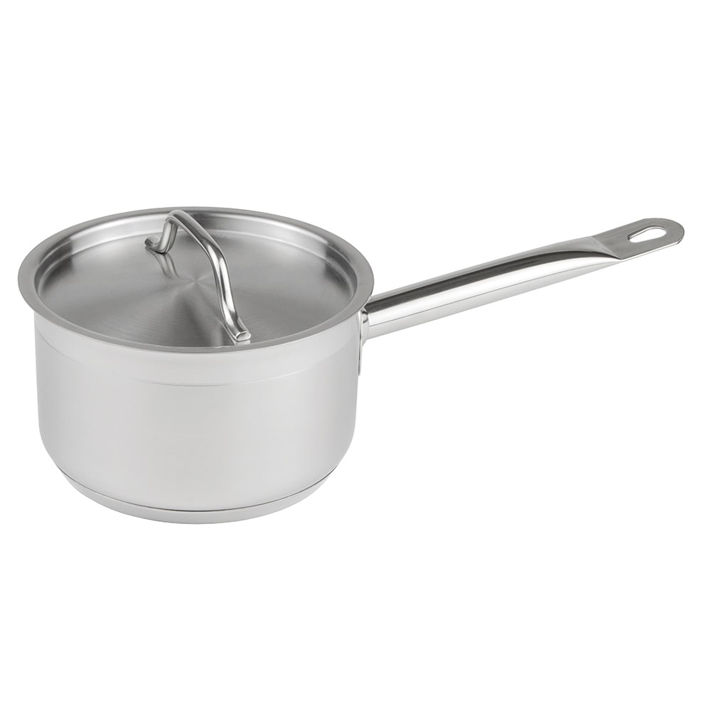 Update SSP-2 2 qt Stainless Steel Saucepan w/ Hollow Metal Handle
