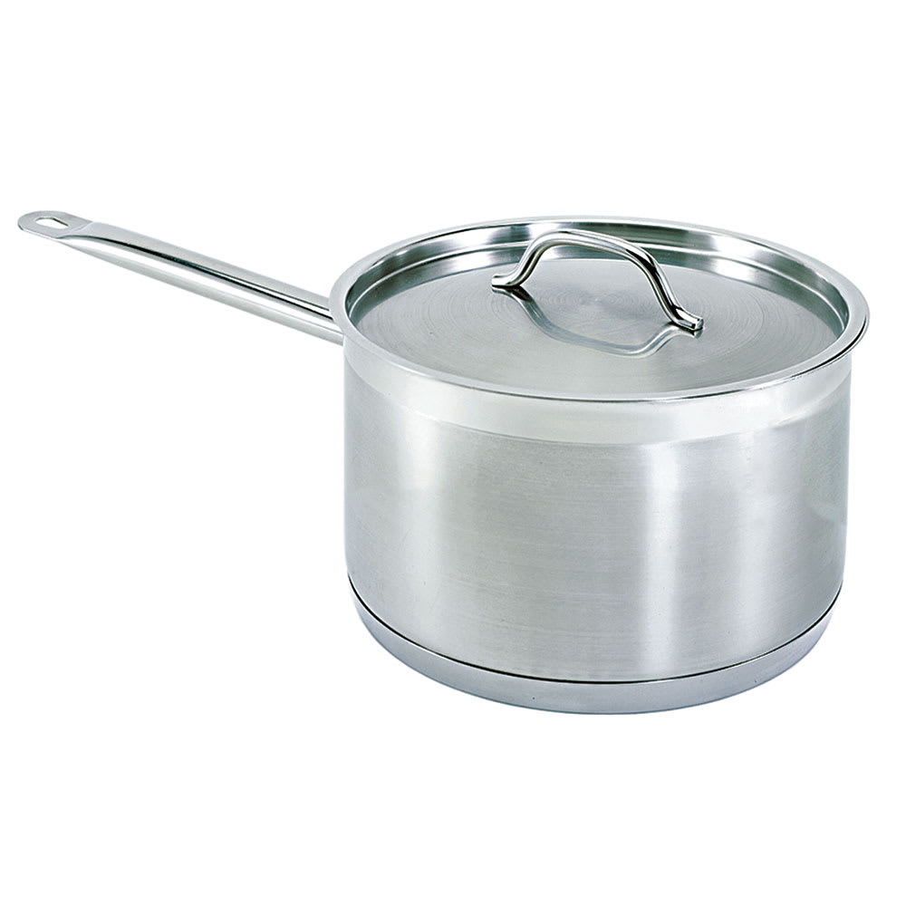 Update SSP-4 4.5 qt Stainless Steel Saucepan w/ Hollow Metal Handle